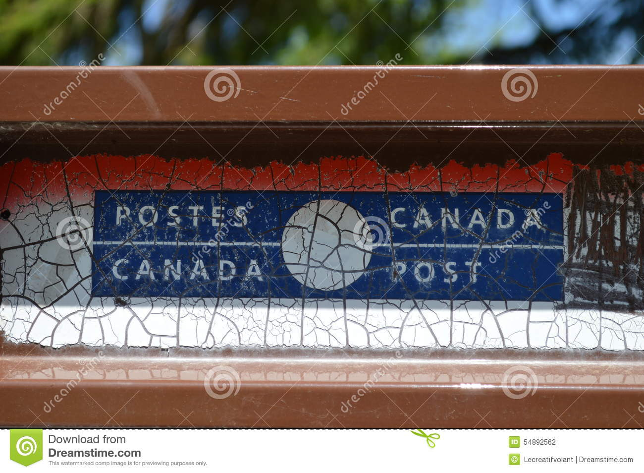 9b8558fee07a7 Canada Post Mailbox editorial photography. Image of weeds - 54892562