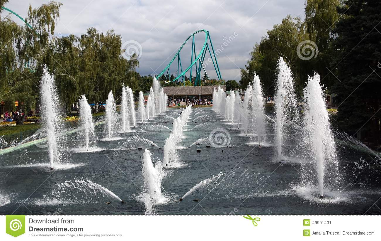 Water fountains canada - Canada S Wonderland