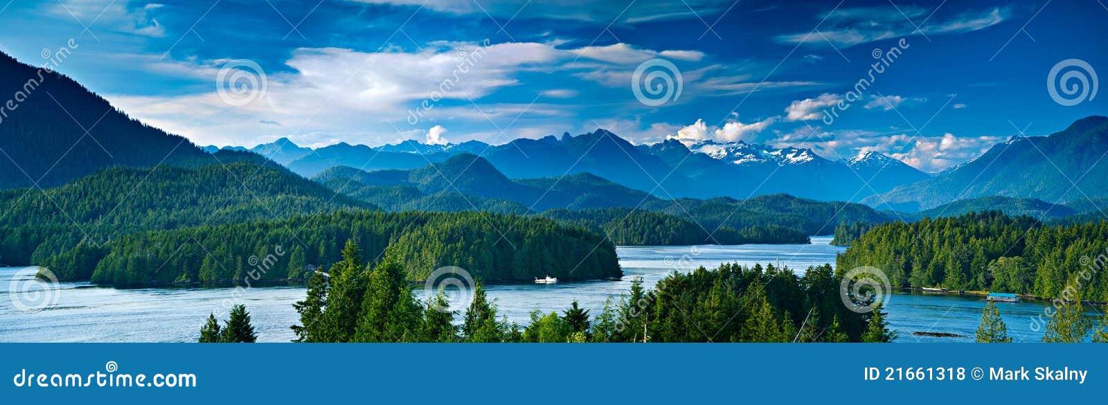 Canada wyspy panoramiczny tofino Vancouver widok
