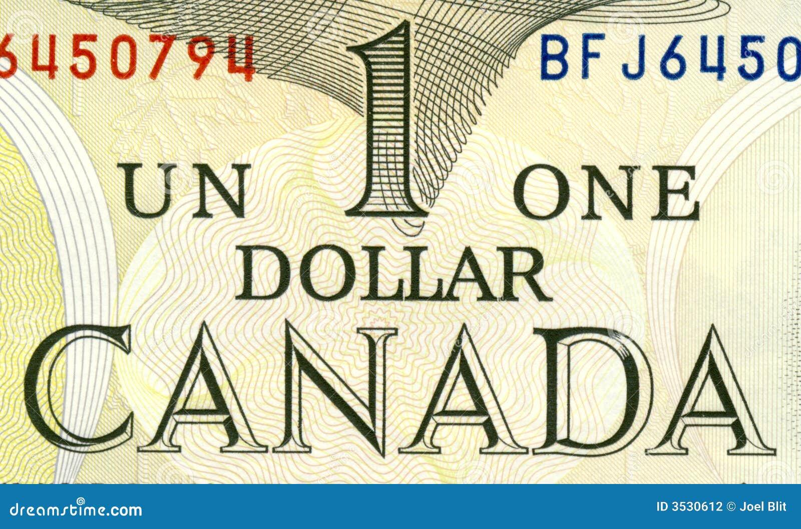 Canadense um dólar