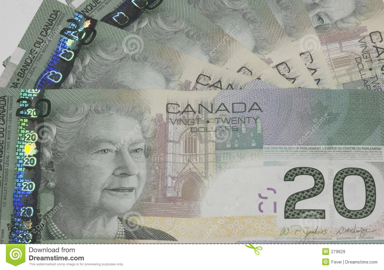 Cdn 20 dollar bill