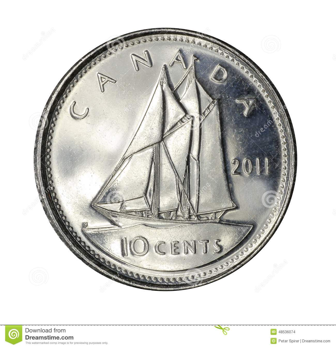 Image result for canadian dime