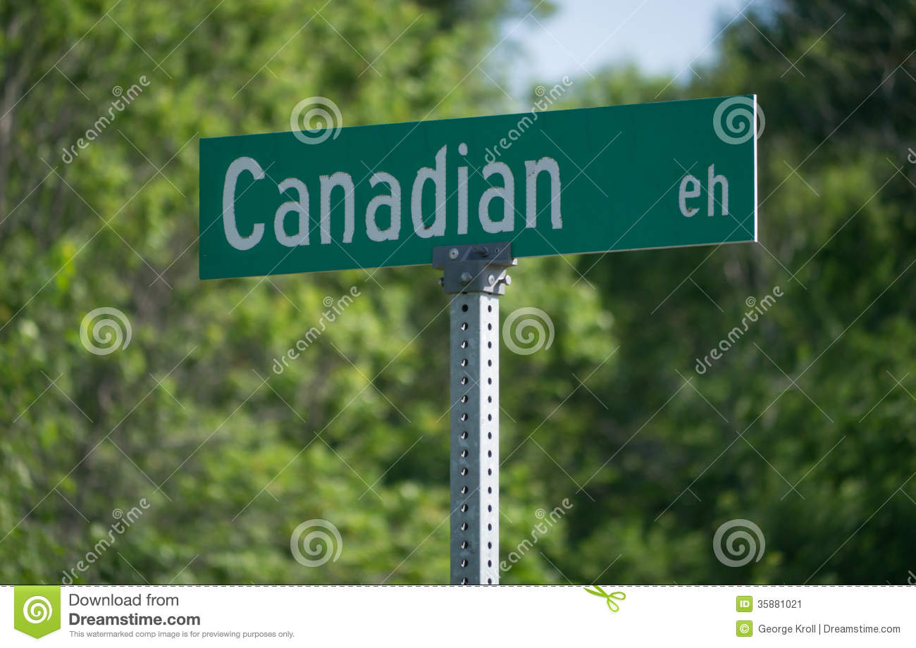 canadian eh stock image image 35881021