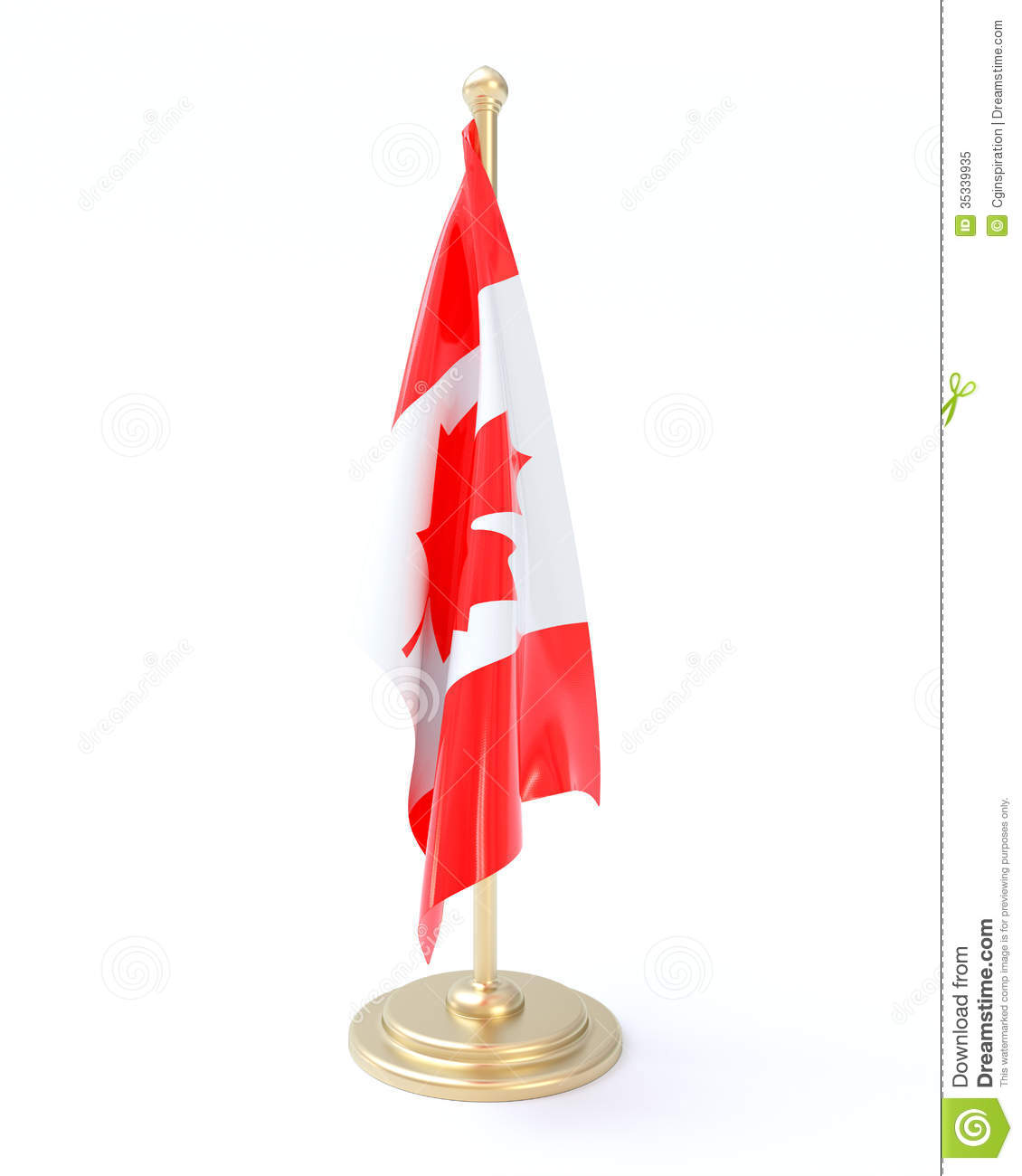 Canadian Flag Royalty Free Stock Photo - Image: 35339935