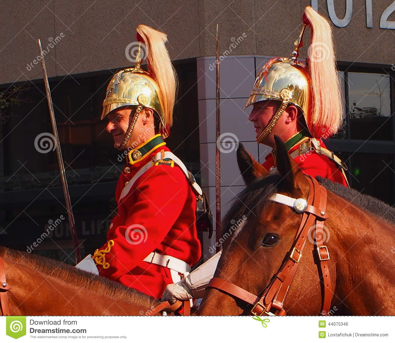 Canadian Forces Lord Strathcona's Horse Regiment Editorial Photo