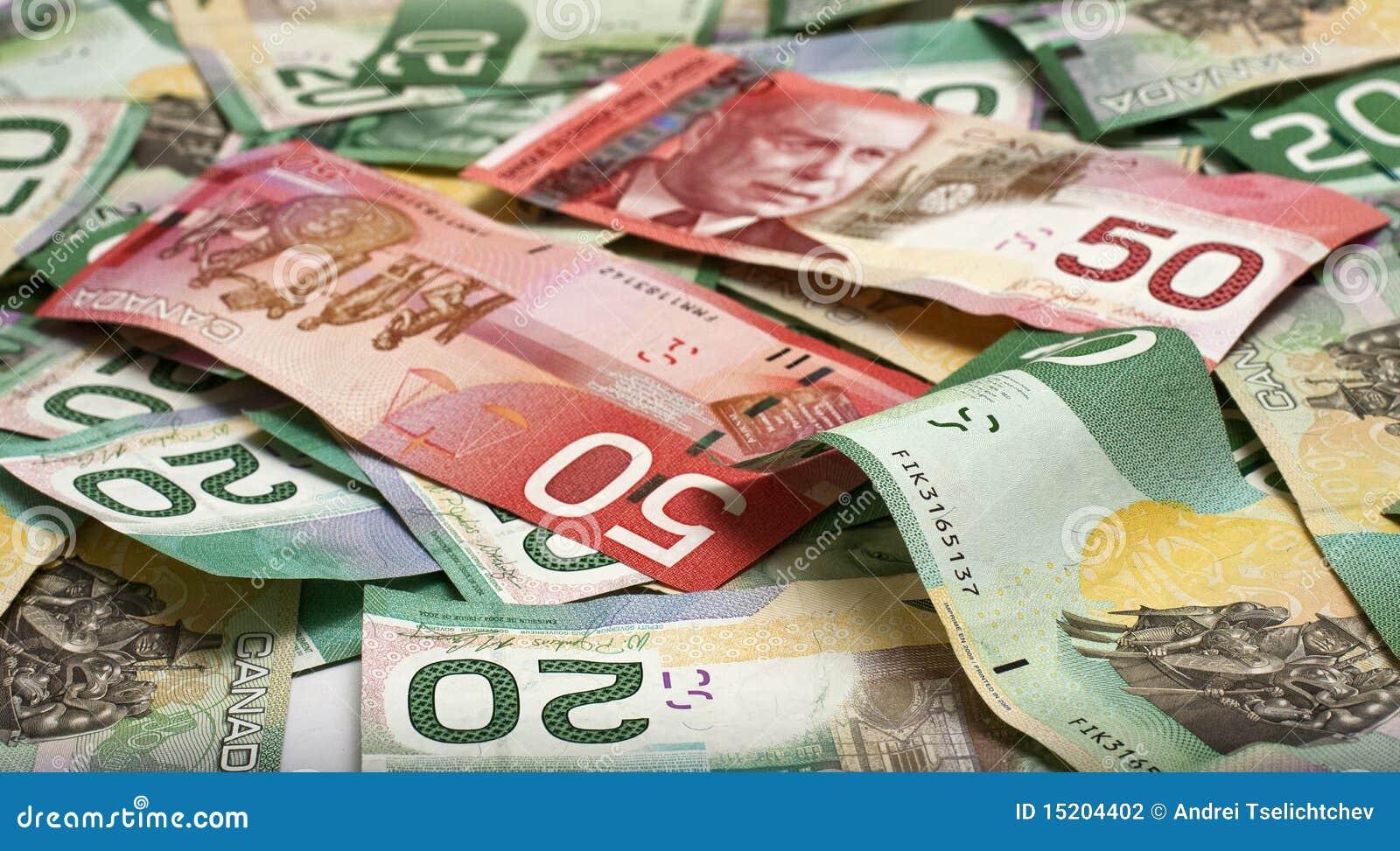 Canadian Money Stock Photography Image 15204402
