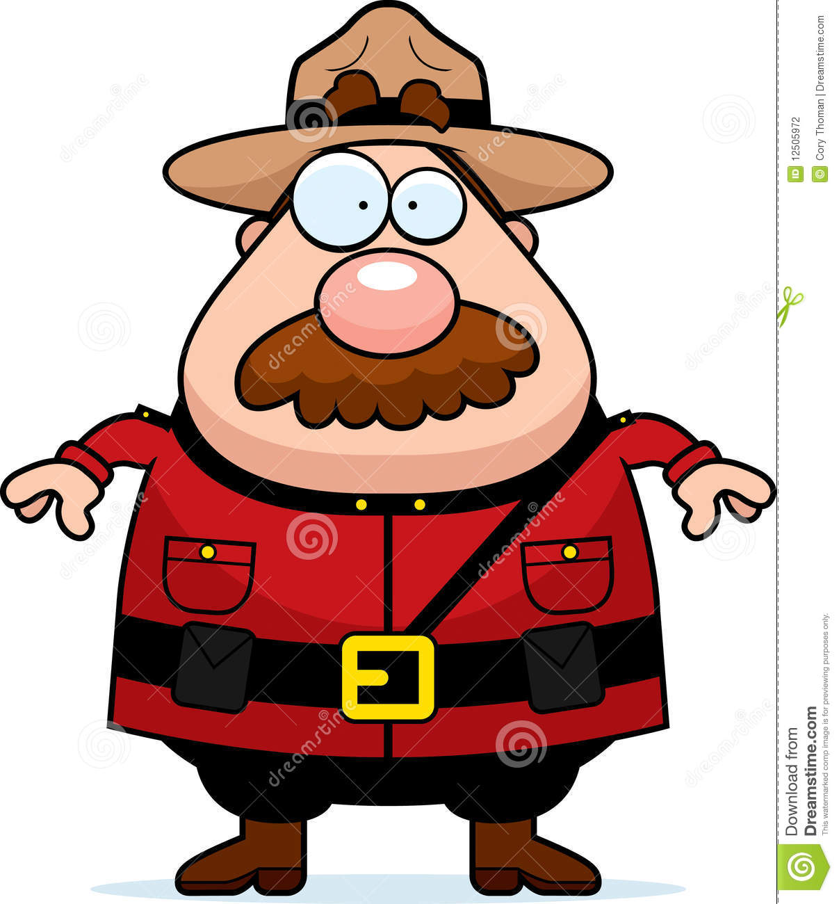 Canadian Mountie Stock Photography Image 12505972