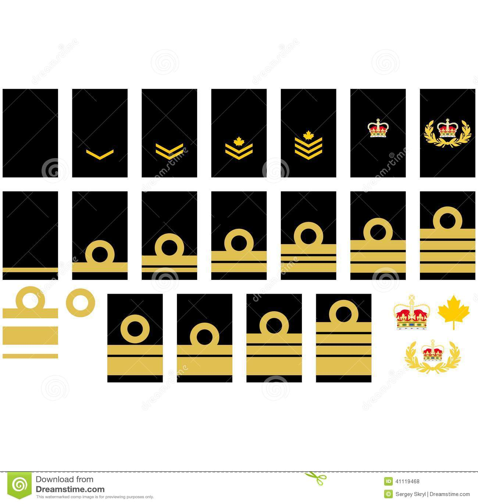 Canadian navy insignia stock vector illustration of item 41119468 canadian navy insignia biocorpaavc Images