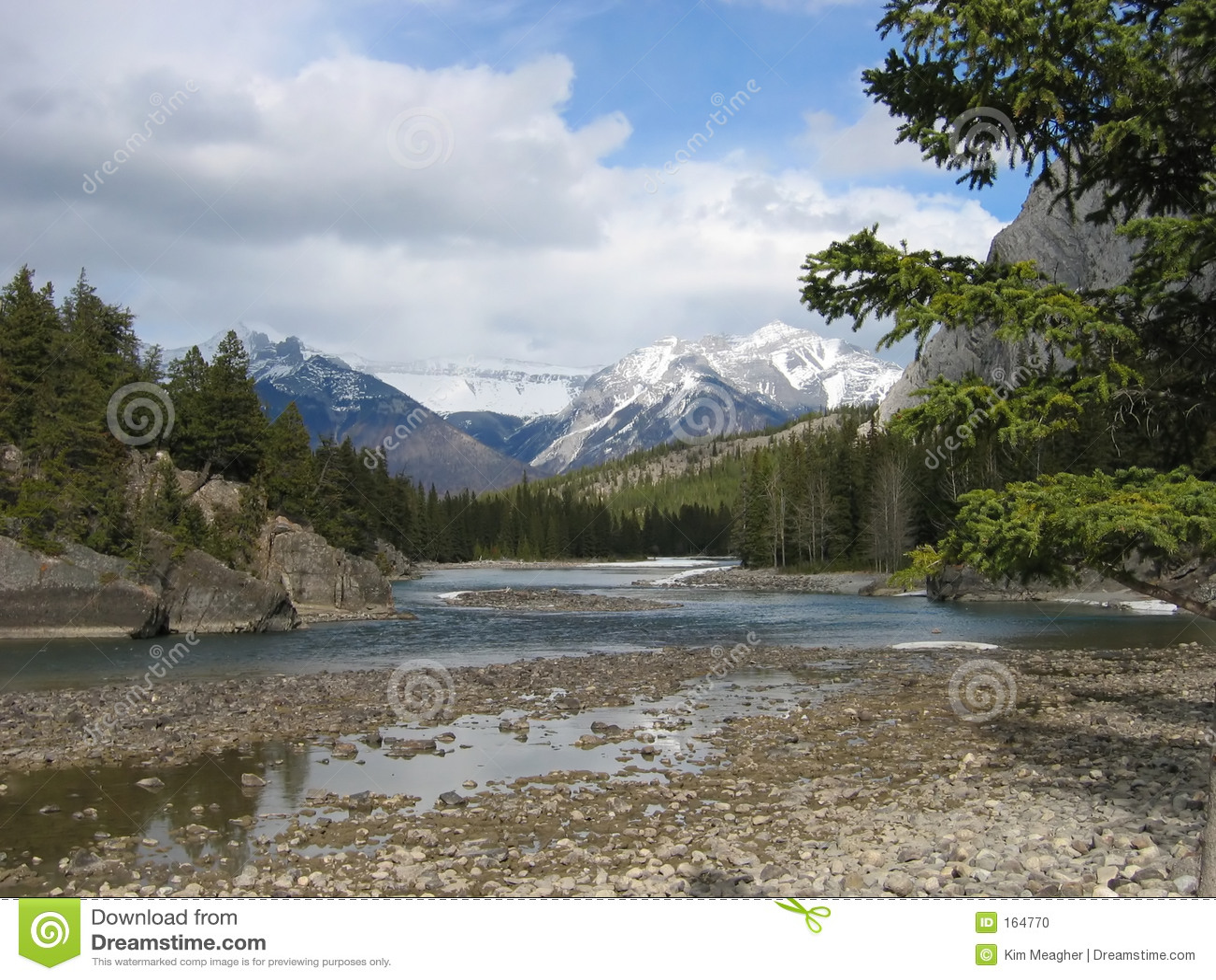 Download Canadian Rockies I stock photo. Image of alberta, water - 164770