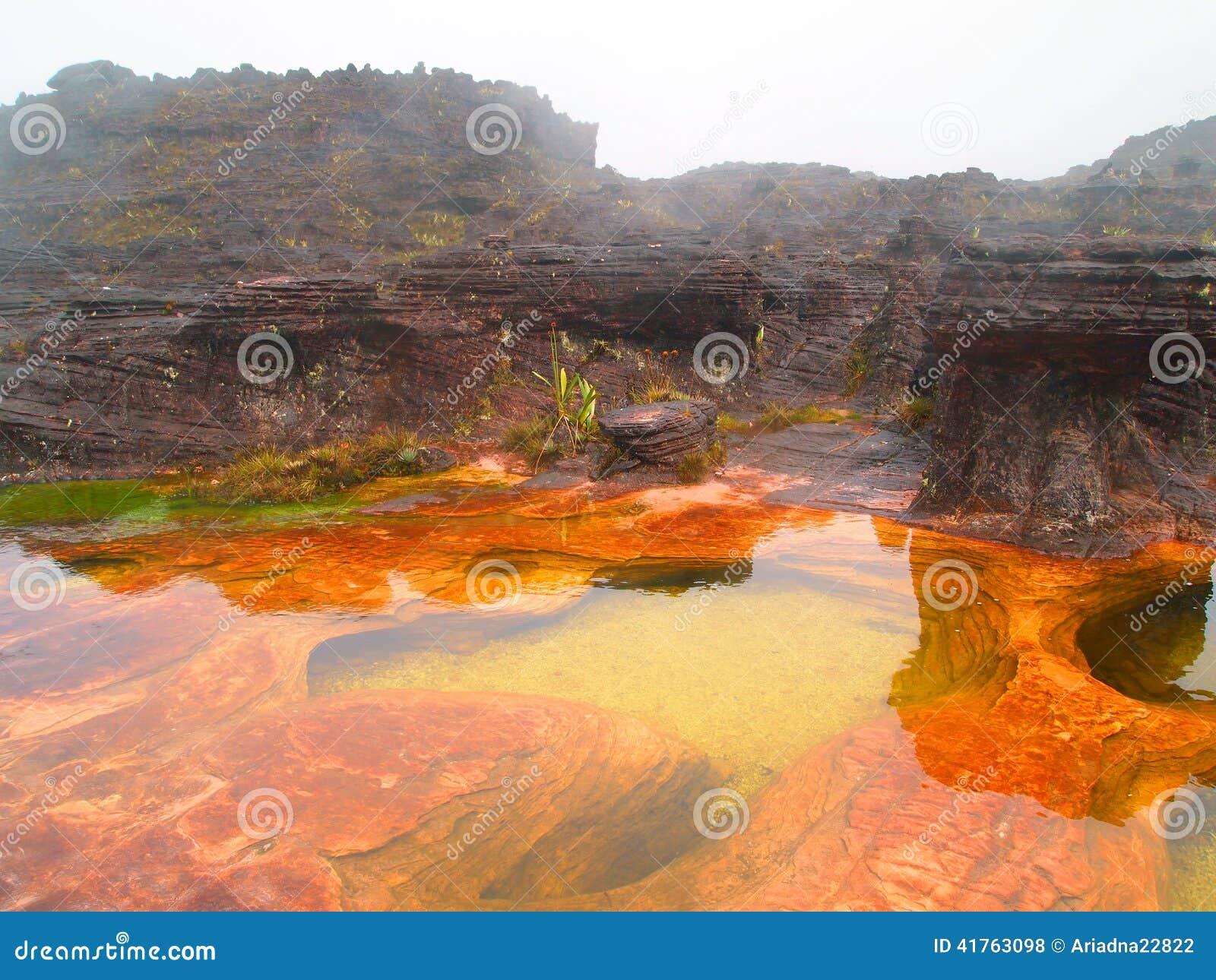 Canaima National Park. Venezuela. Stock Photo - Image ...