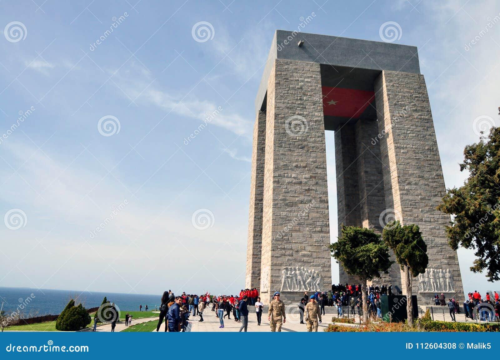 Canakkale Martyrs le mémorial