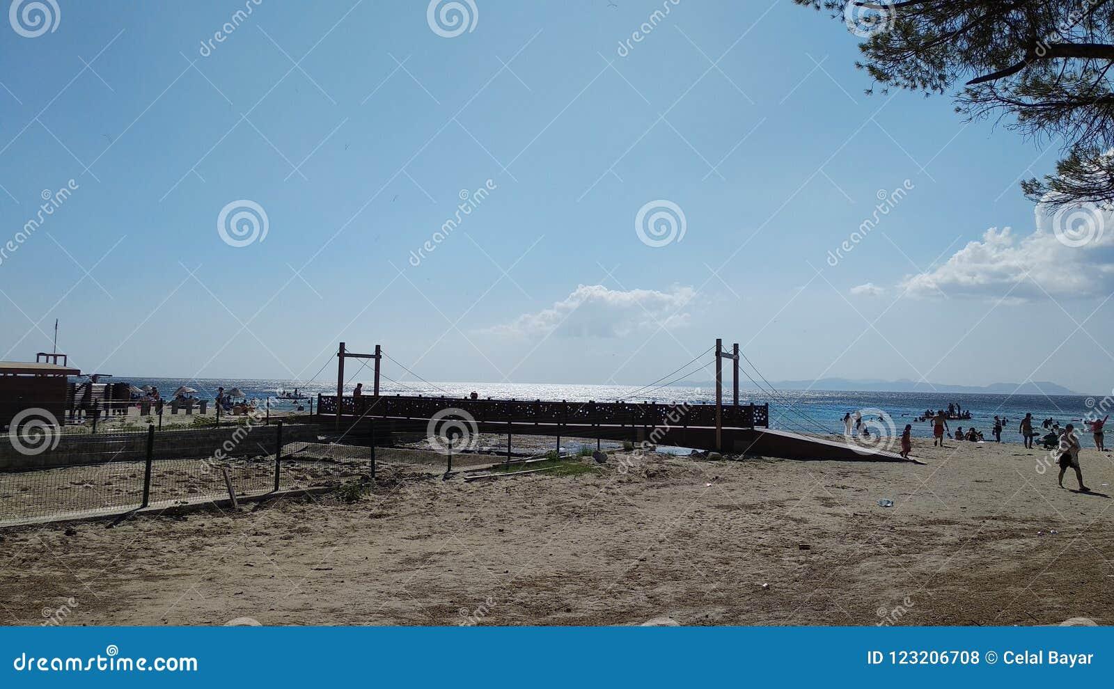 Download Canakkale sea coast beach stock photo. Image of geliblu - 123206708
