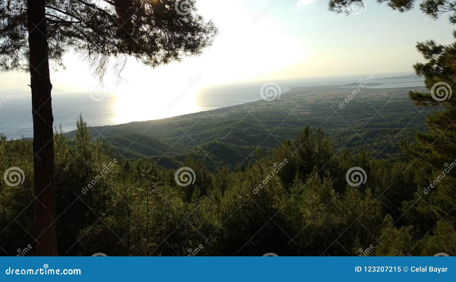 Download Canakkale sea coast beach stock image. Image of fruit - 123207215