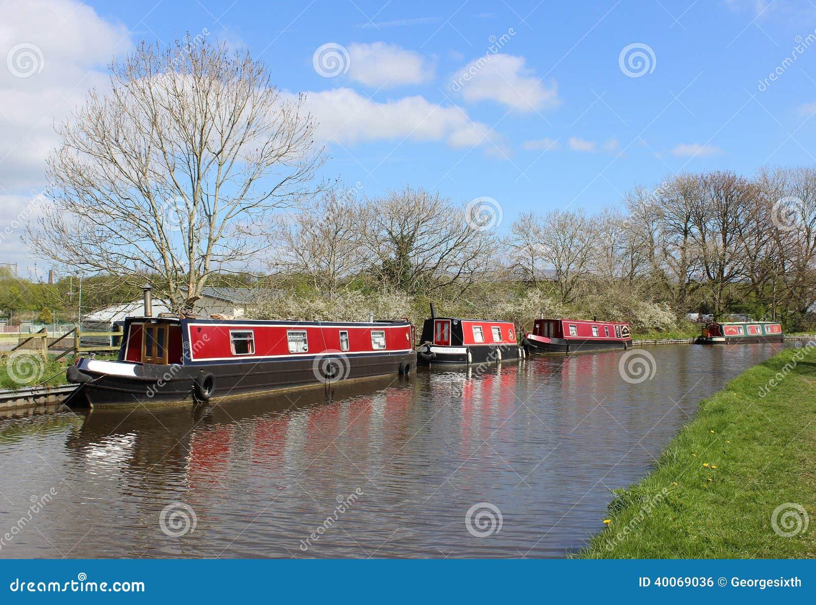 Narrow Boats England