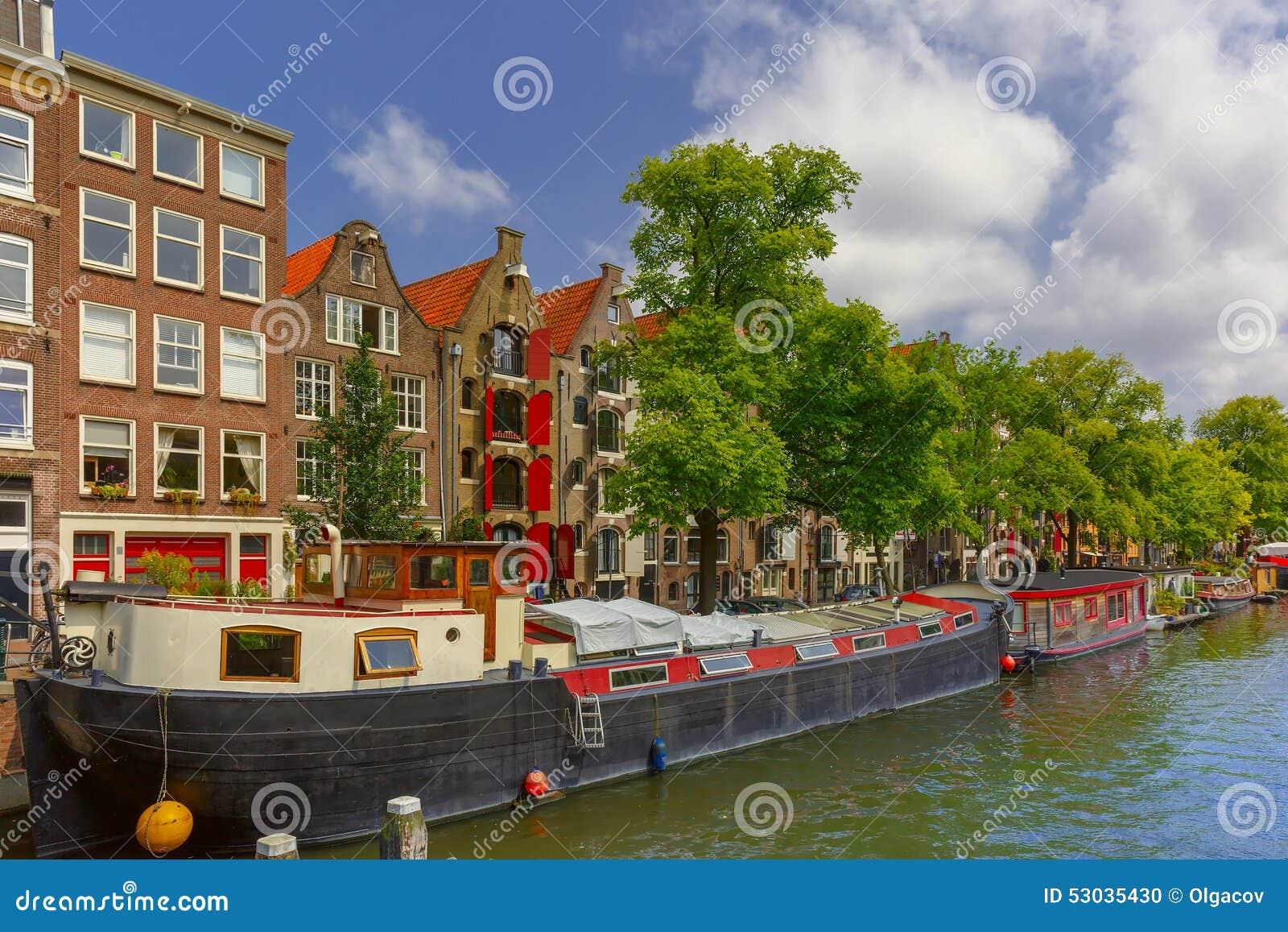 amsterdam canal ciudad holanda