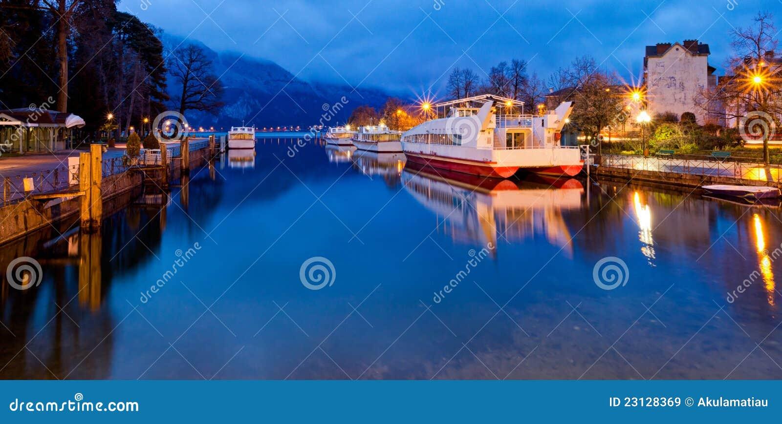 Canal de Annecy, France