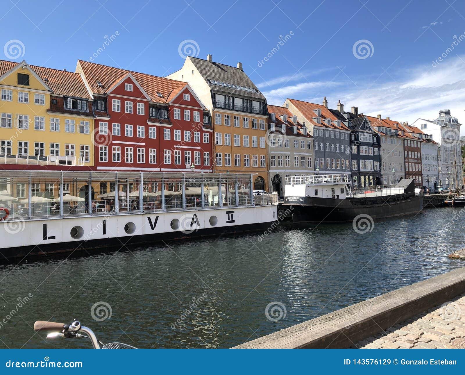Canal de beauté à Copenhague
