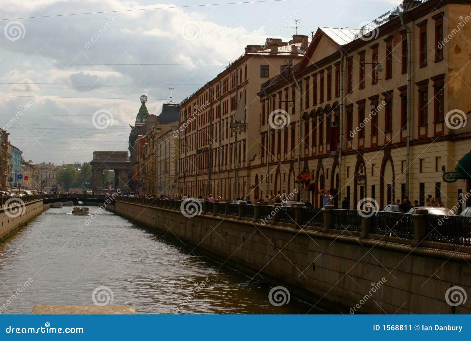Canal de St Petersburg
