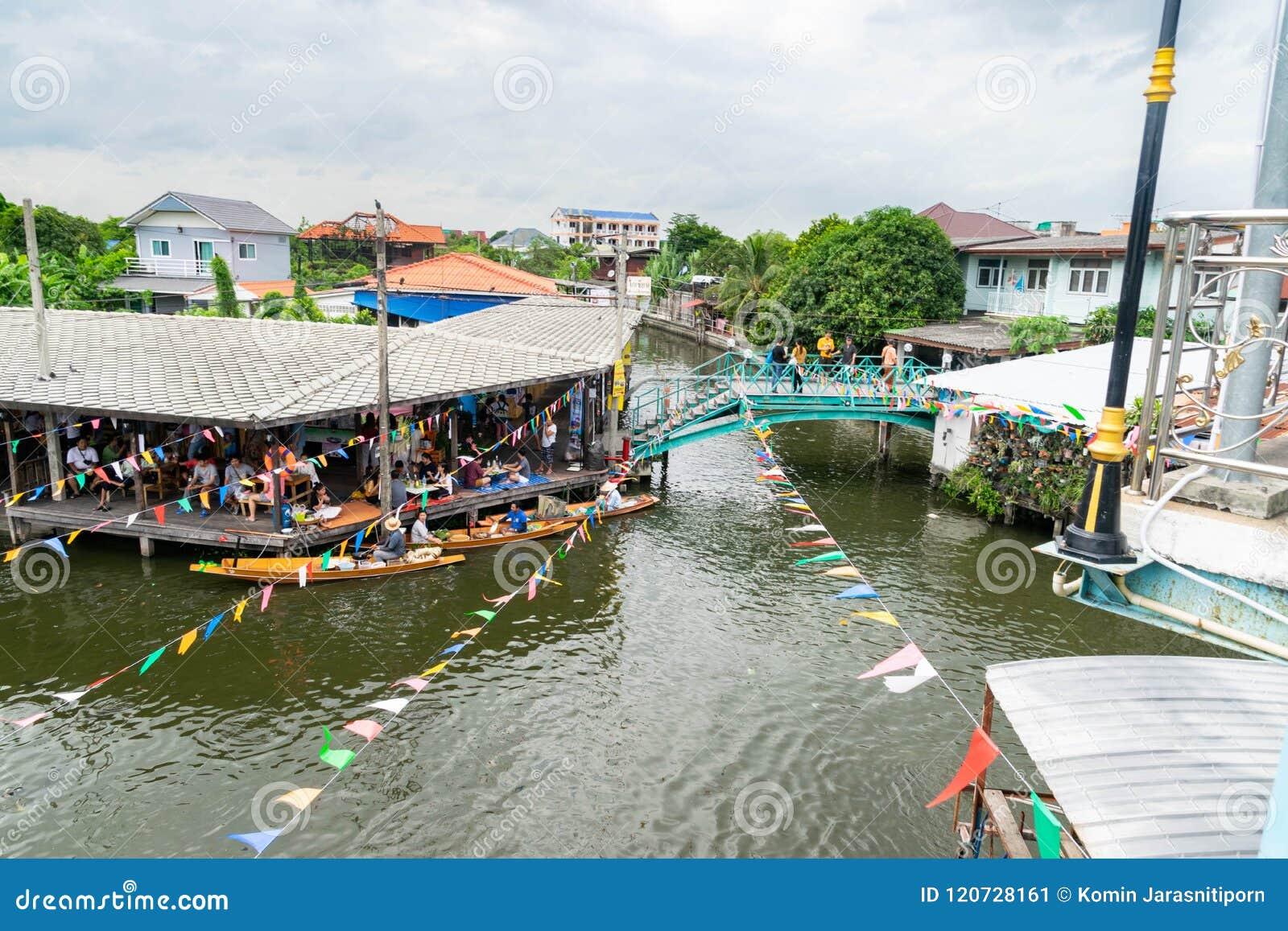 Canal em Banguecoque