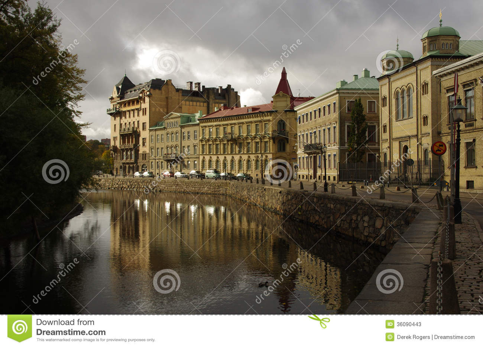 Canal, Gothenburg Sweden