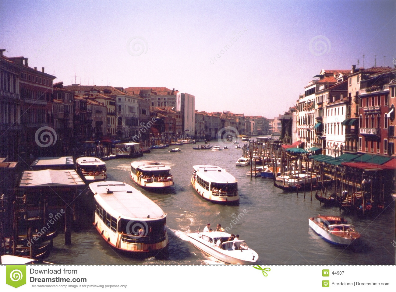 Canal grand - Venise Italie