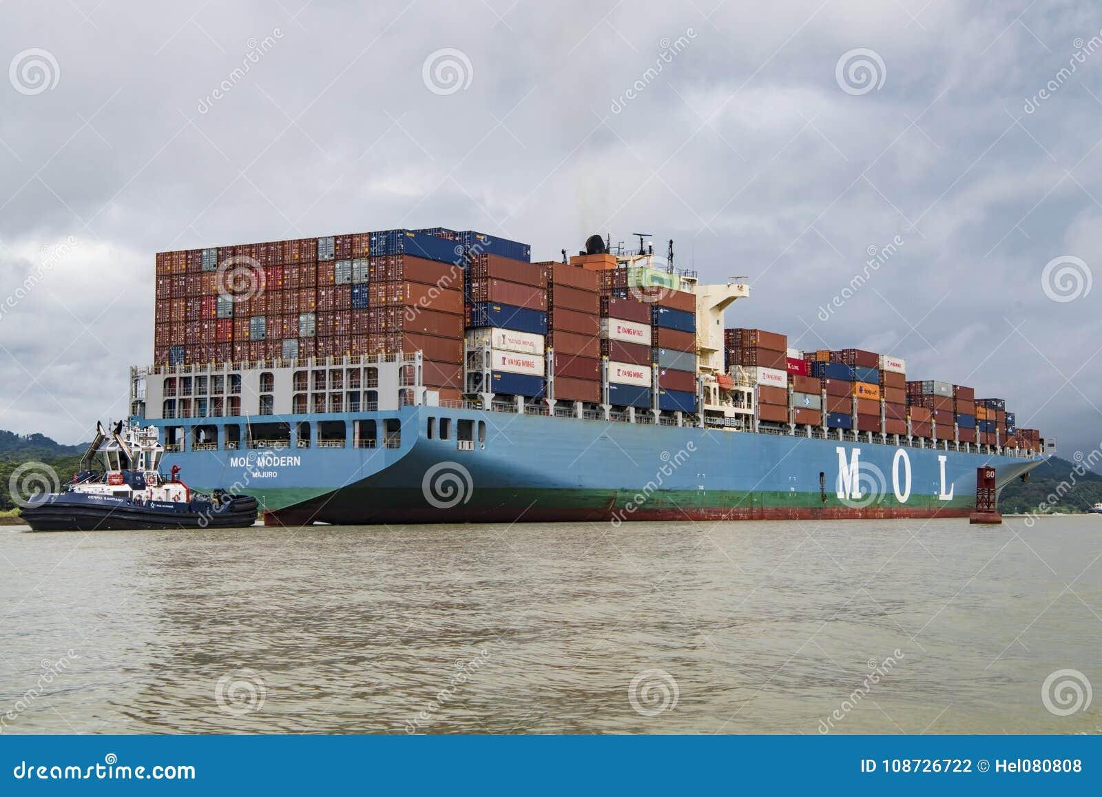 Canale di Panama della nave da carico