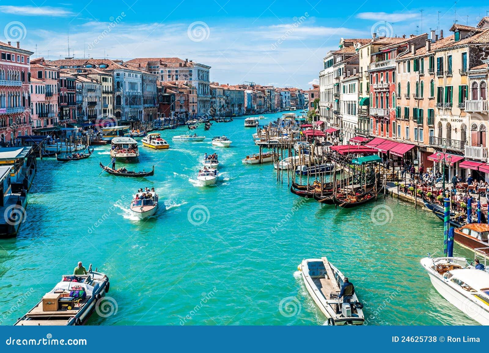 Canale gran - Venezia, Italia