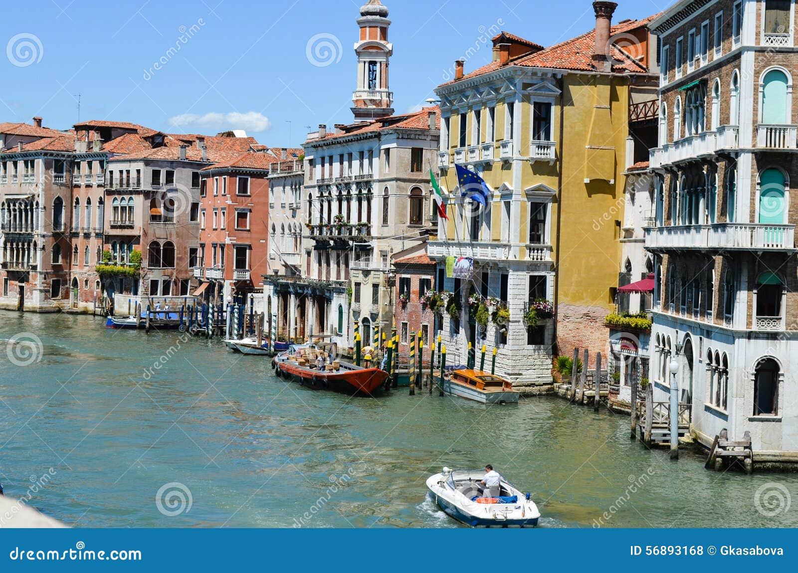 Canale grande, Venezia Italia
