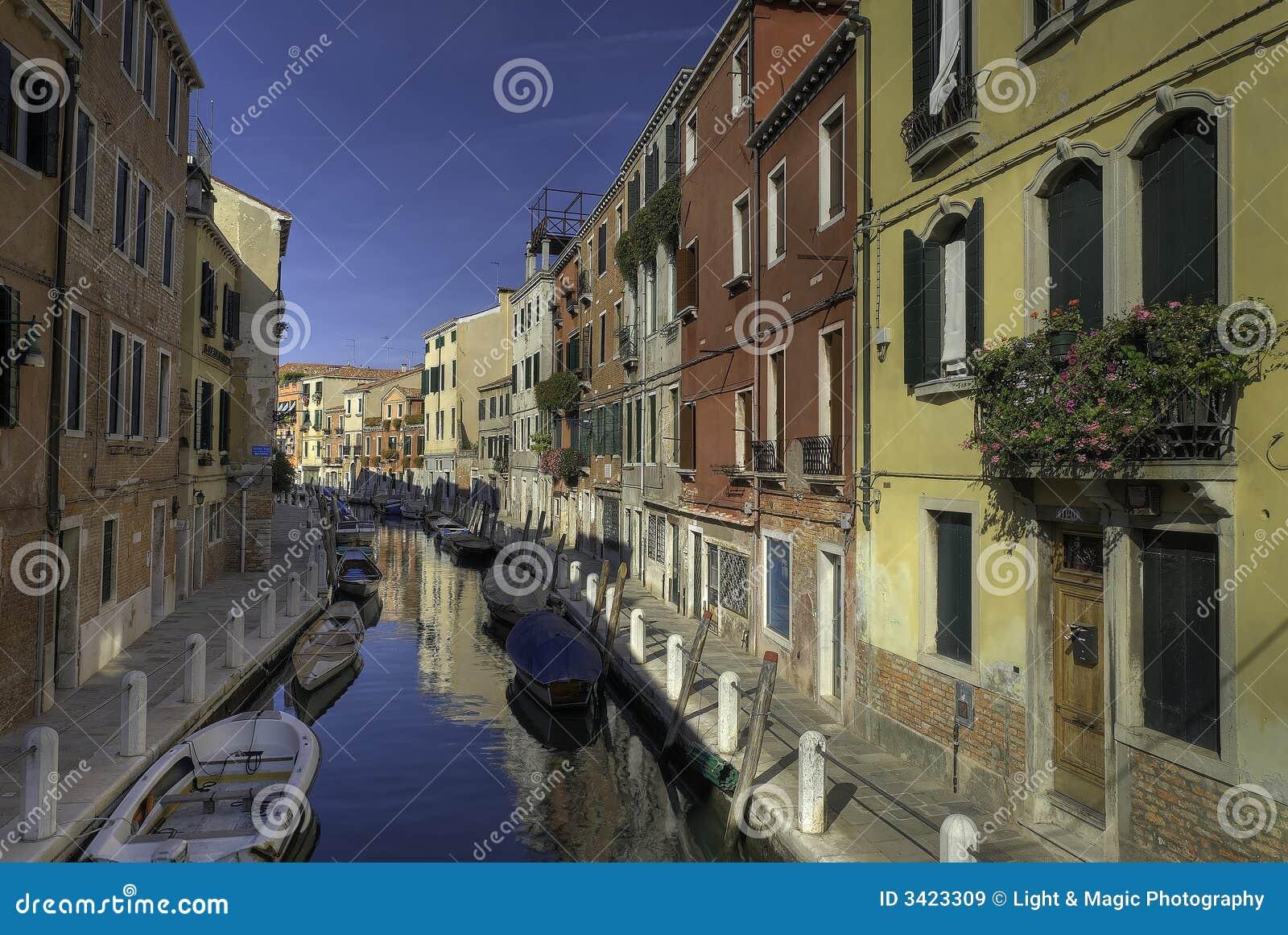 Canale variopinto di Venezia