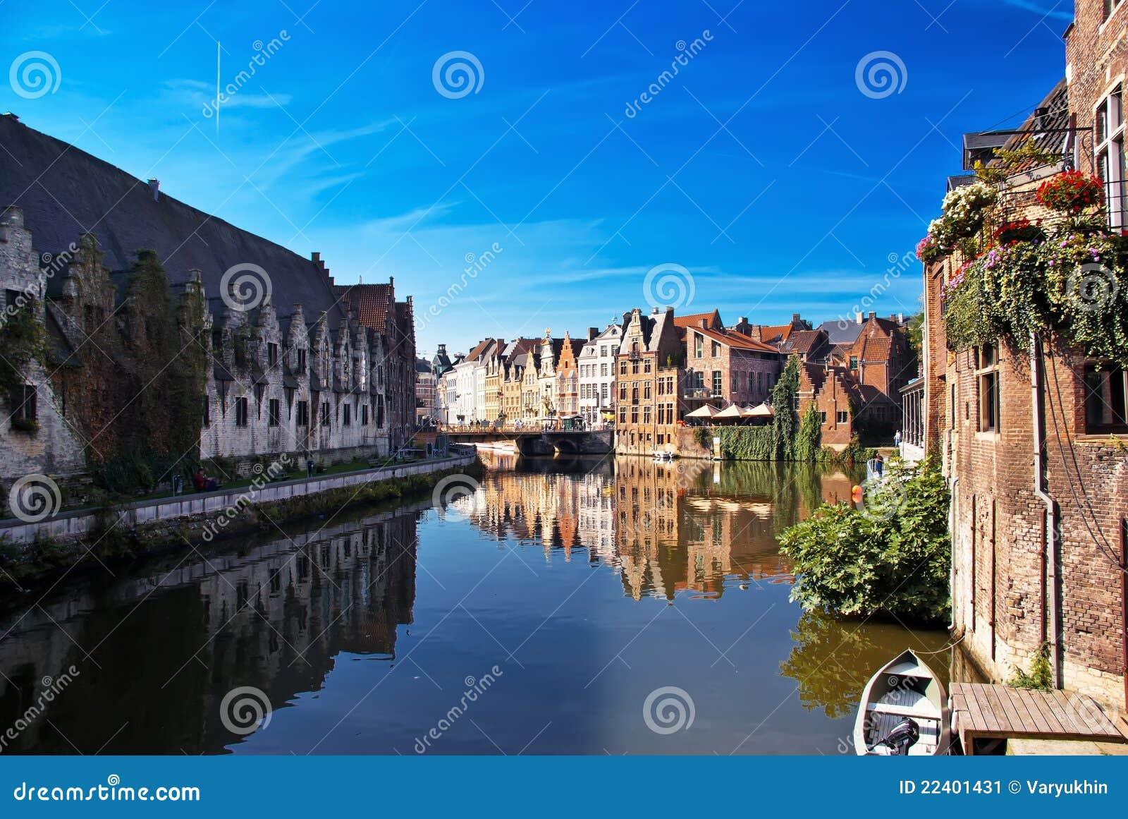 Canaletas de Bruges.