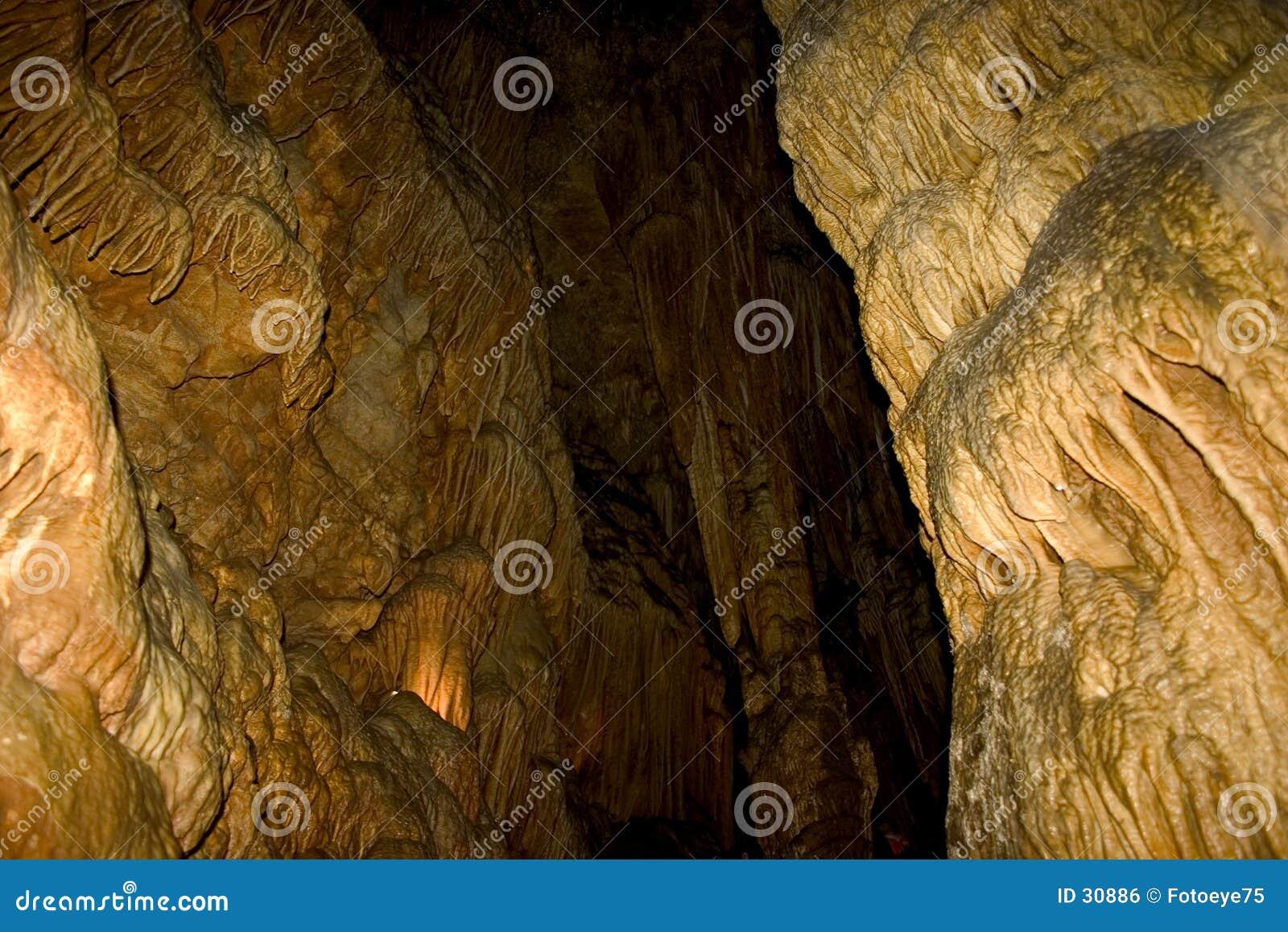 Canalisation de caverne