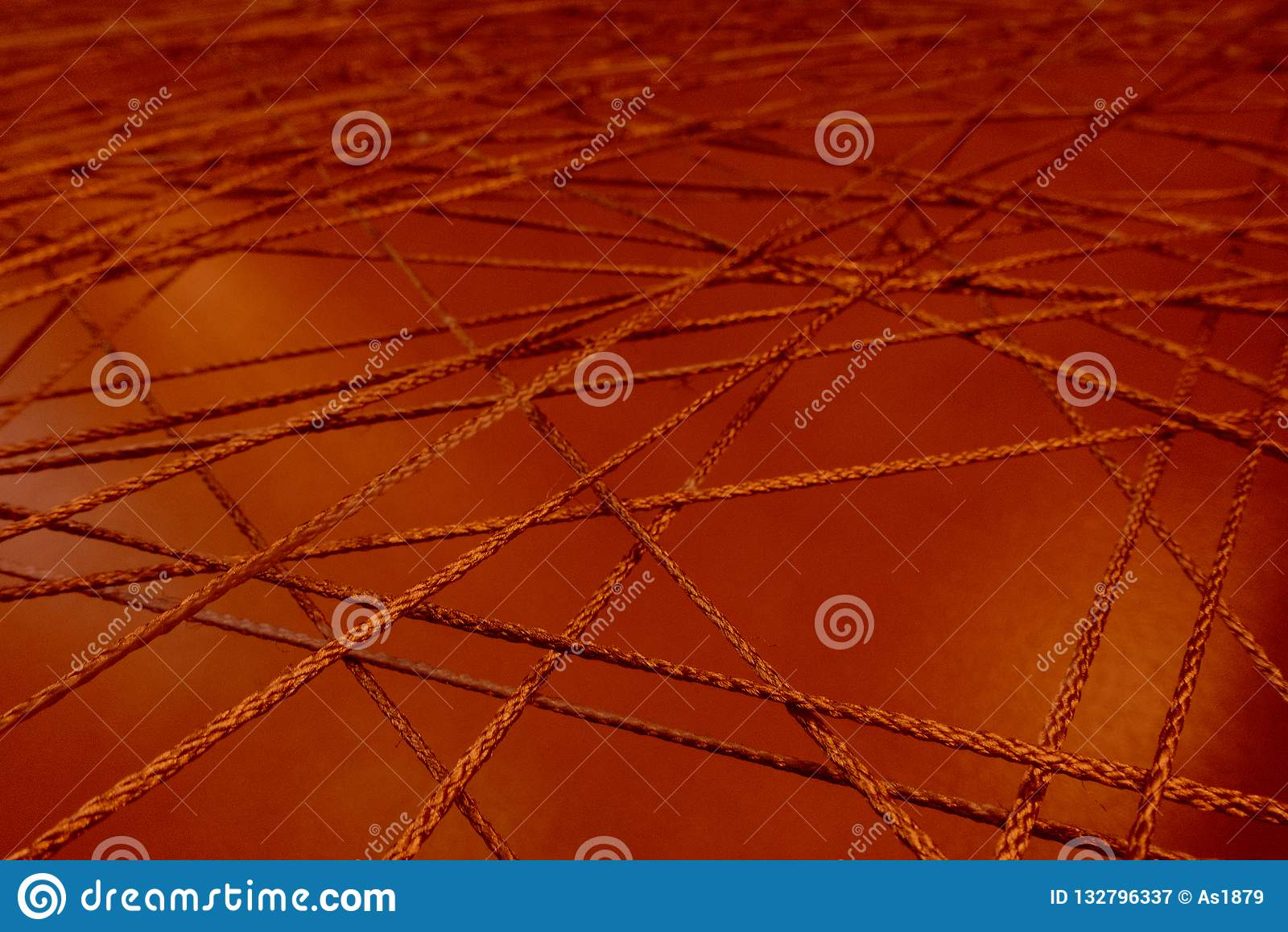 Canalisations de raccordement fin de intersection de maille de réseau de corde vers le haut d abrégé sur canalisation de canaux d