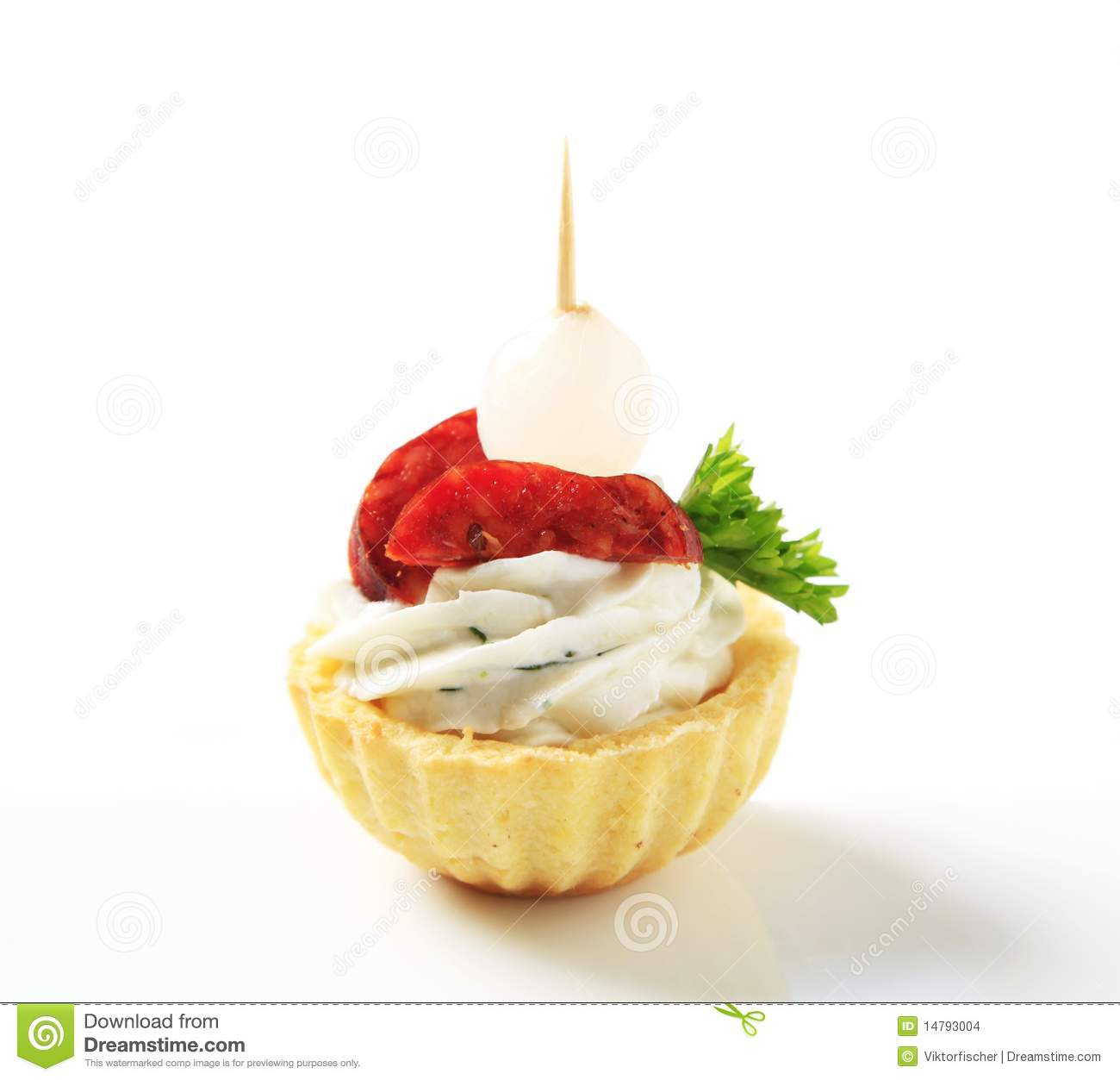 Canape stock images image 14793004 for Pastry canape fillings