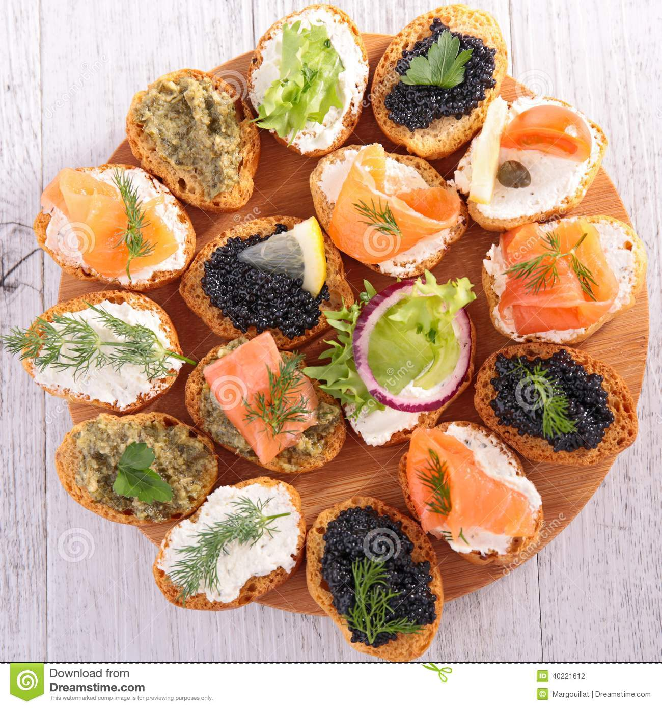 Canape buffet food stock photo image of board for Canape buffle