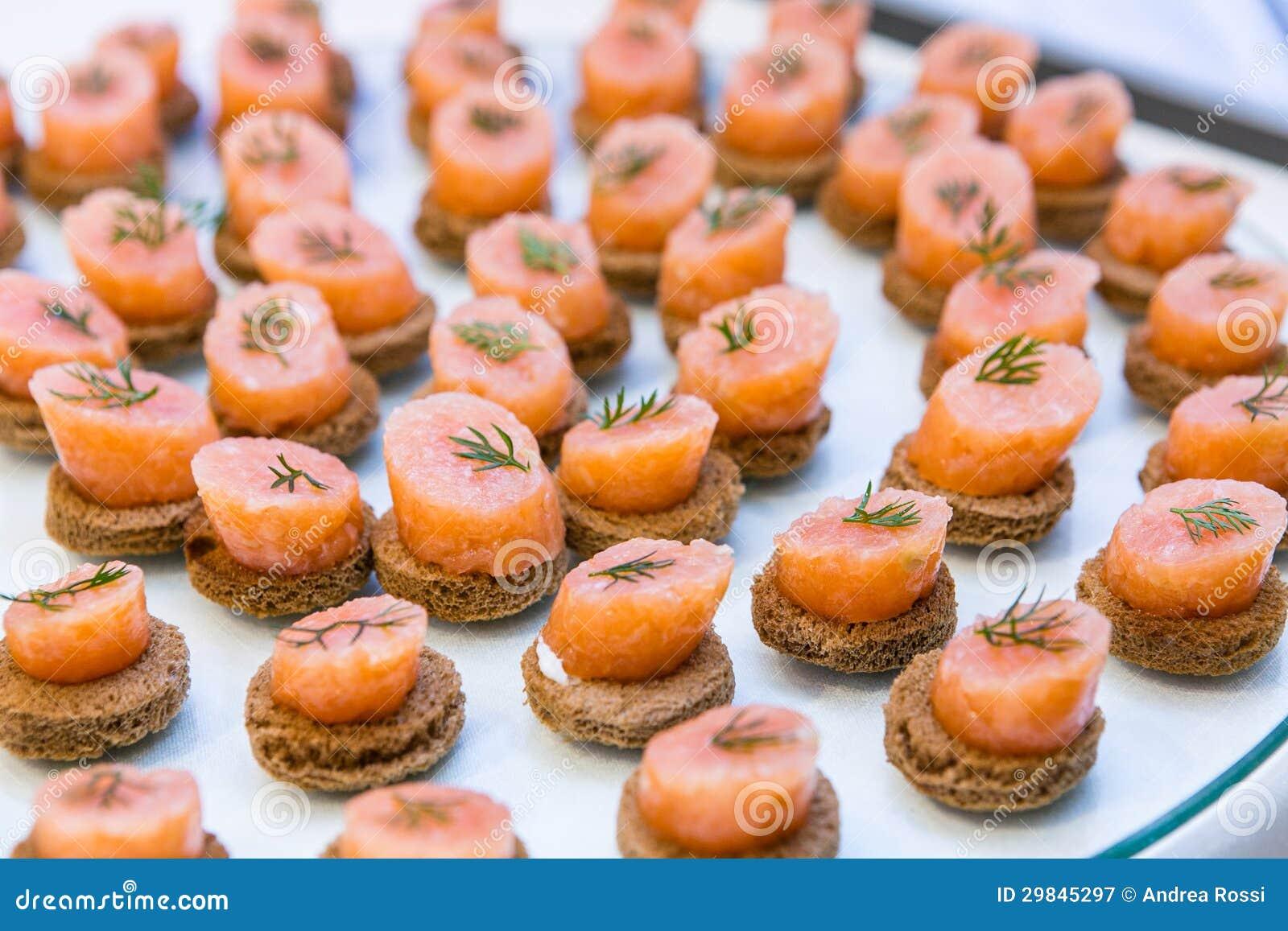 Aperitivos Salmon