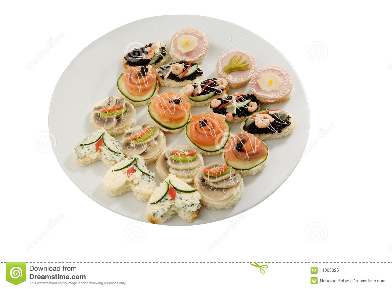 Canape selection royalty free stock photo image 11063325 for Canape selection