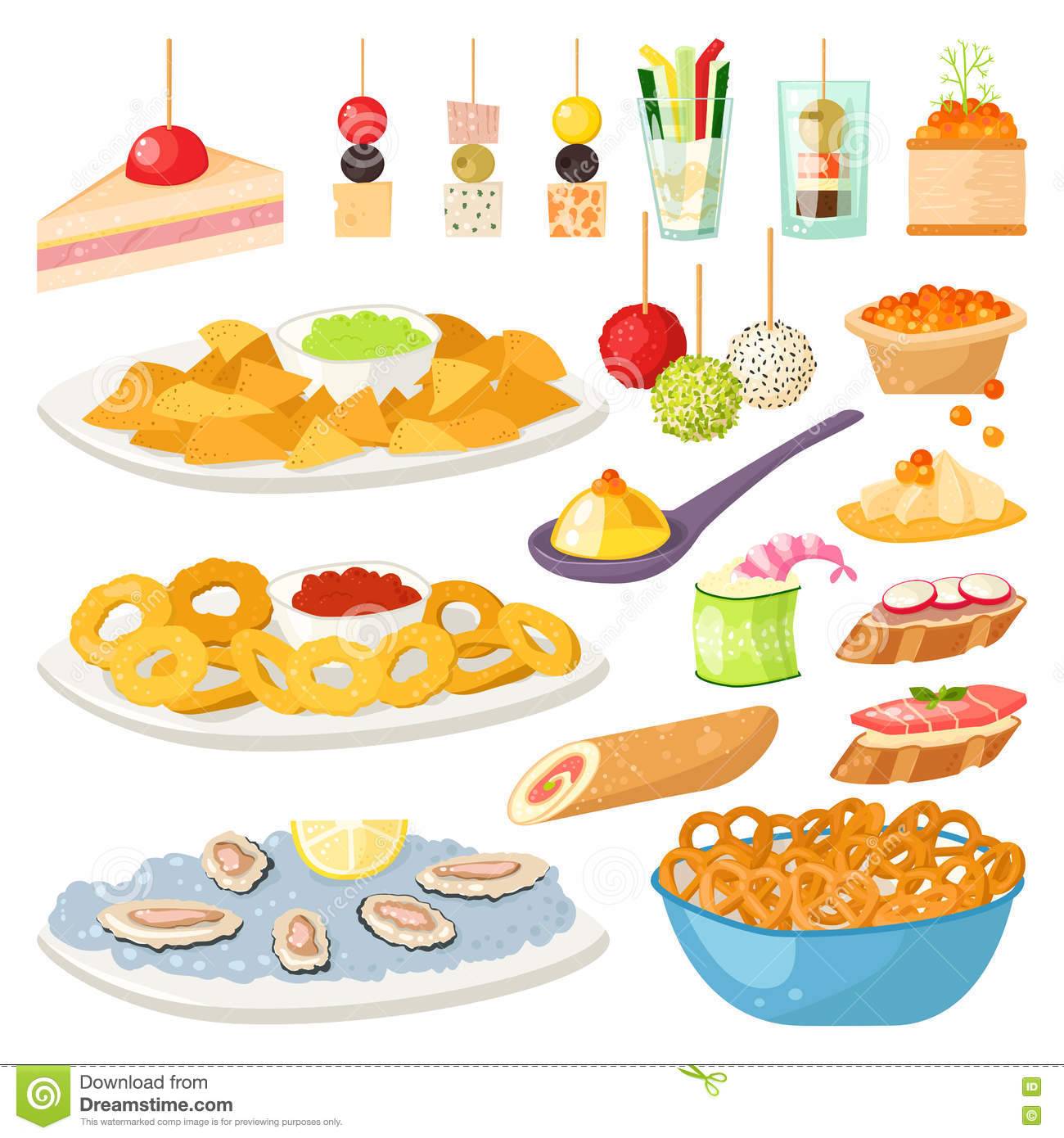 Tartlet cartoons illustrations vector stock images 88 for Canape vector download