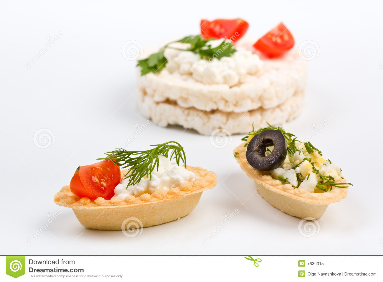 canape snacks with cottage cheese royalty free stock photo. Black Bedroom Furniture Sets. Home Design Ideas