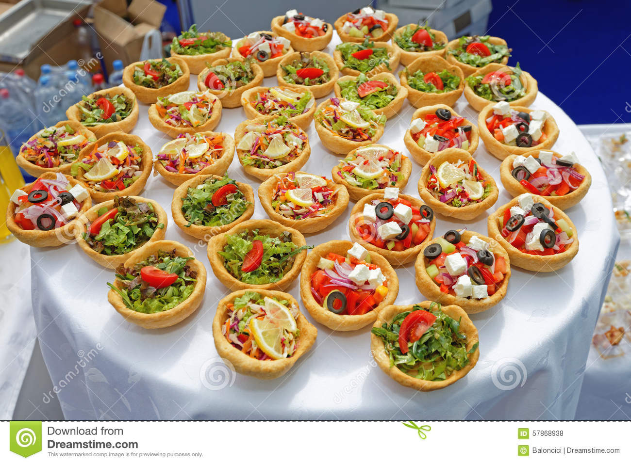 Canapes pastry stock photo image of decorative canapes for Canape ideas for party
