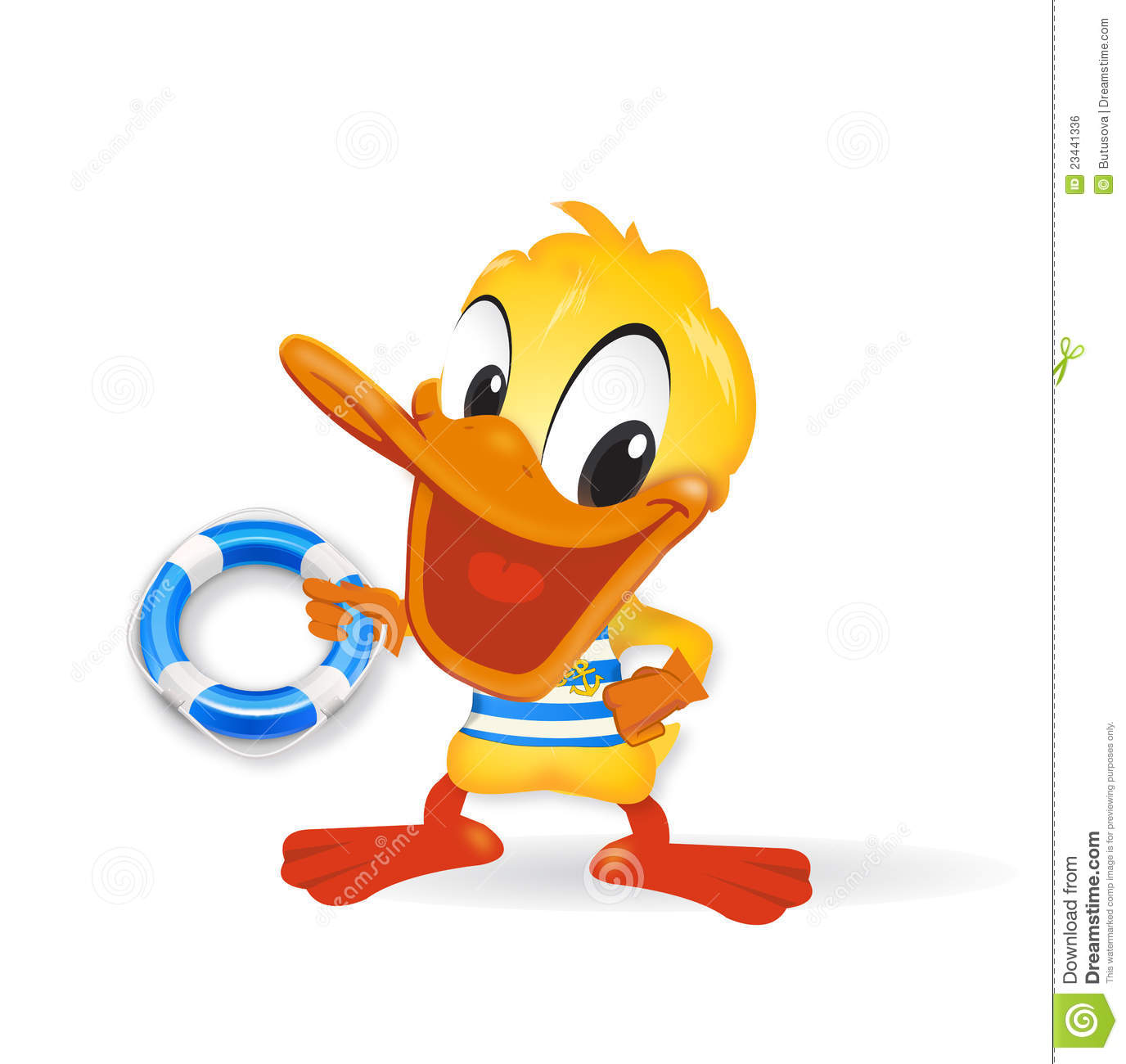 Canard illustration de marin illustration stock image - Illustration canard ...