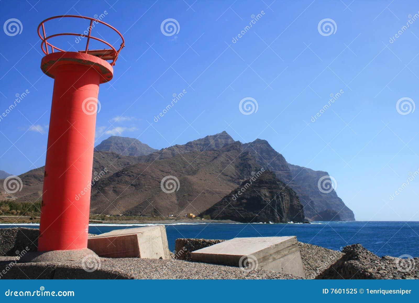 Canaria入口gran港口海岛