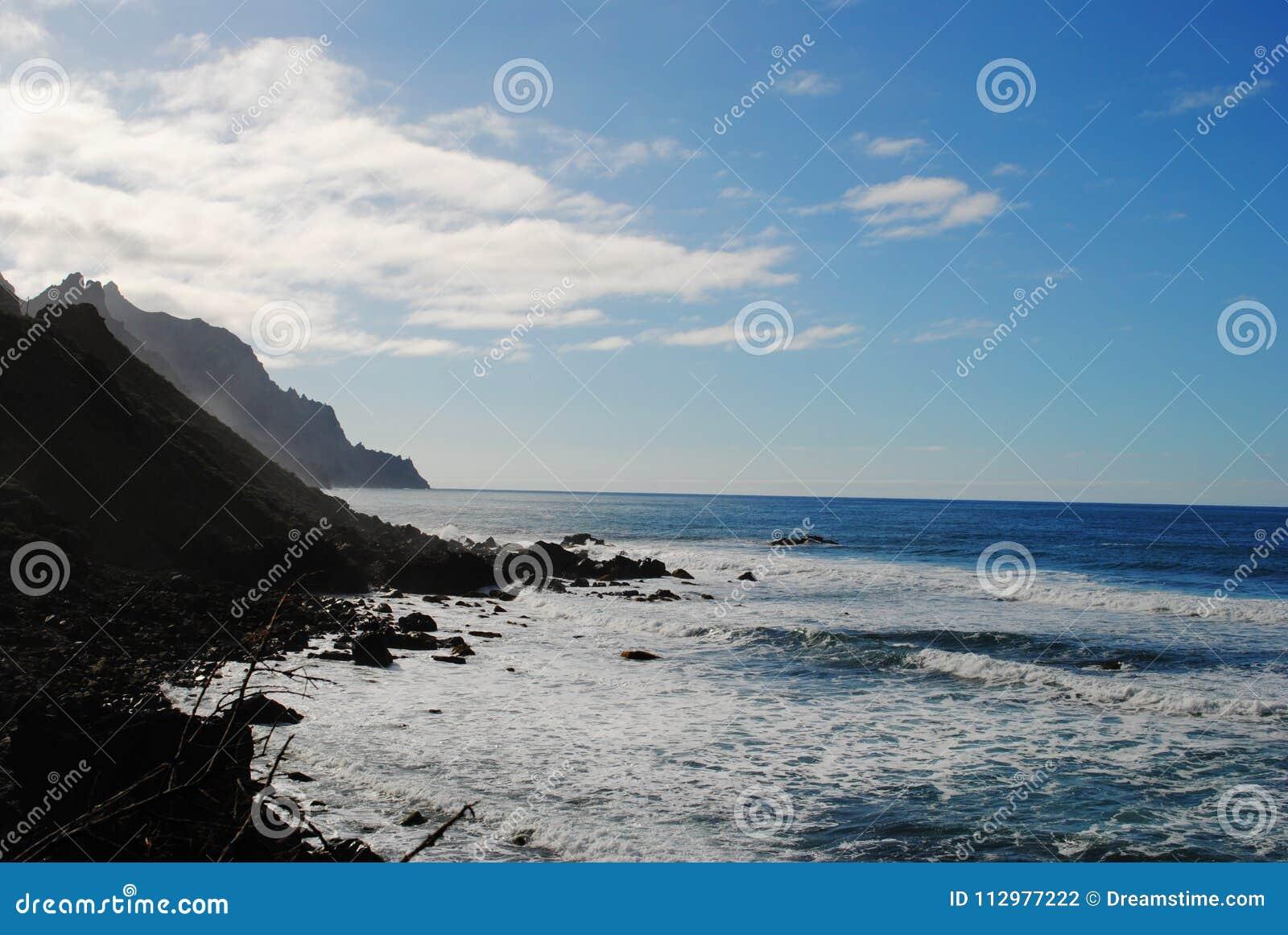 Canary Islands, Tenerife, Taganana
