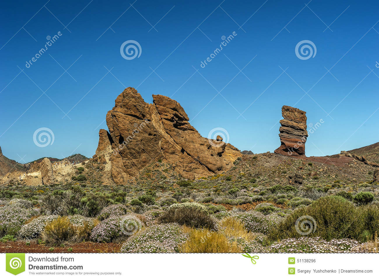 Canary islands tenerife volcano teide rock the finger for Different color rocks for landscaping