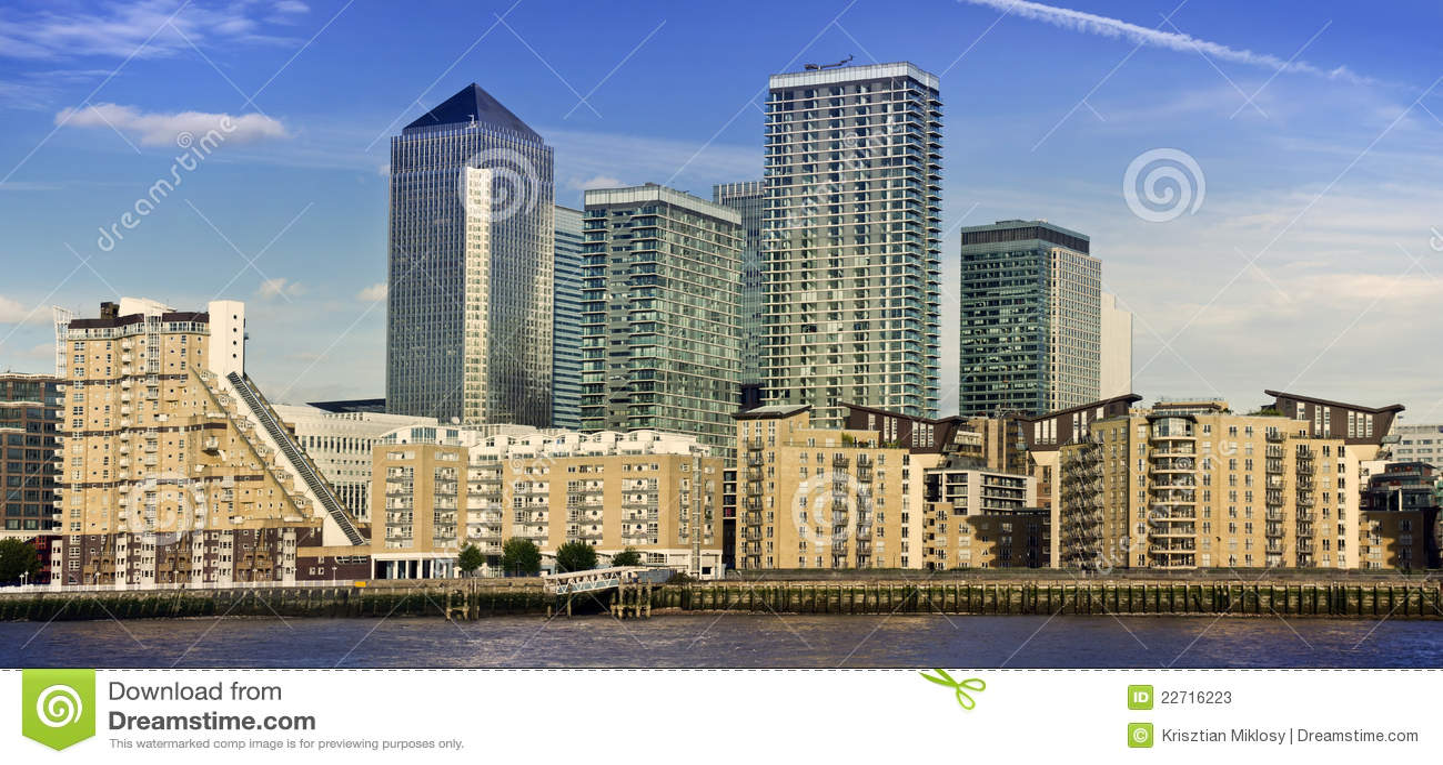 canary wharf london uk stock photos   image 22716223