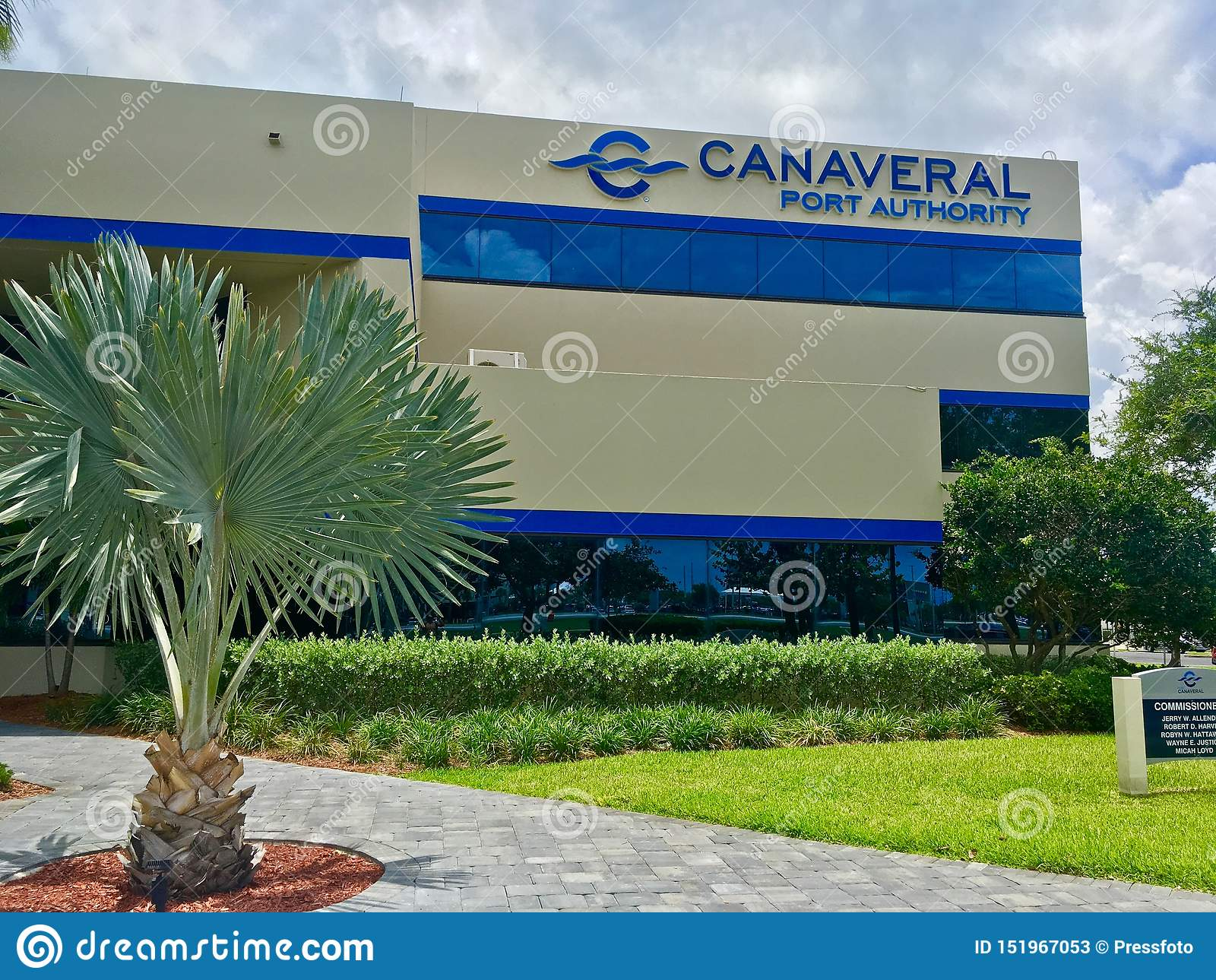 Canaveral Port Authority budynek