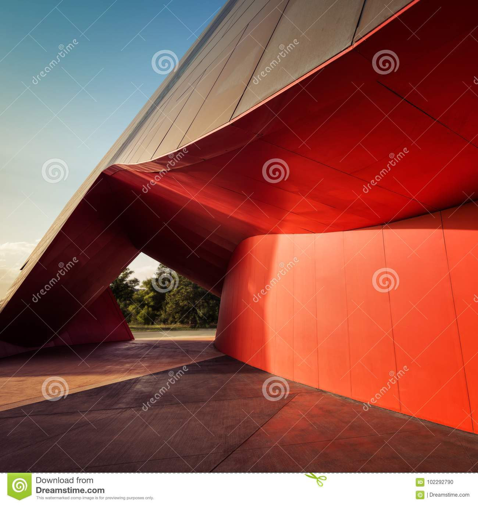 Canberra-Architektur-Kunst