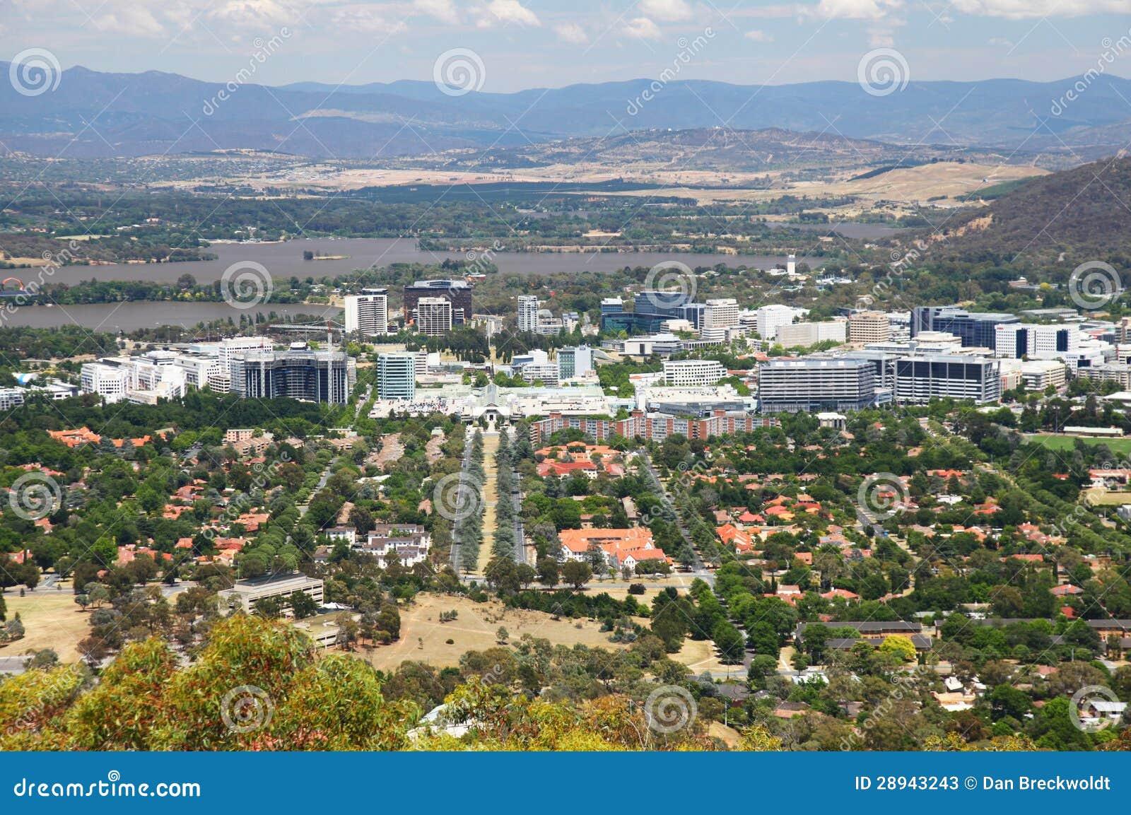 Canberra in Australië
