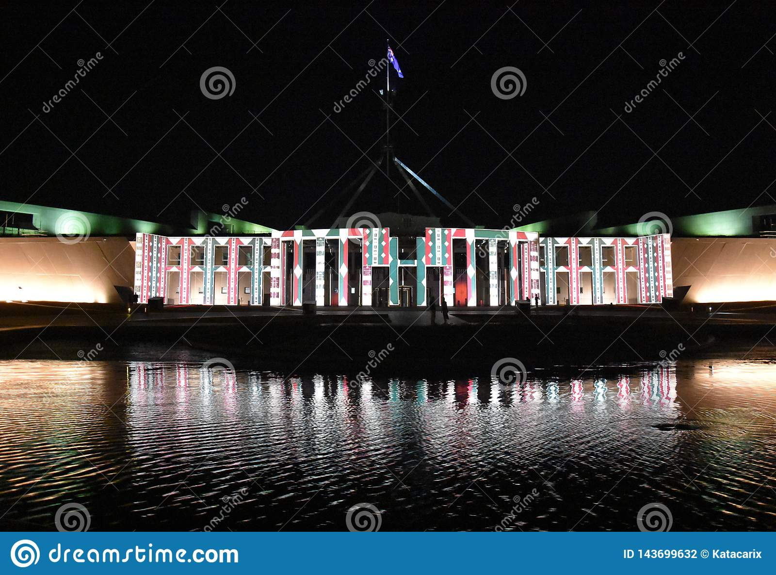 Enlighten festival in Canberra