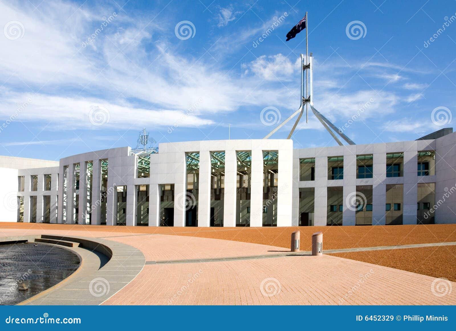 Canberra domu parlamentu
