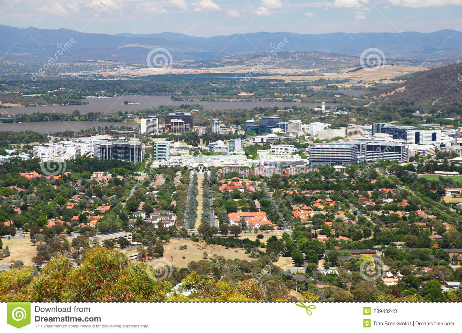 Canberra i Australien